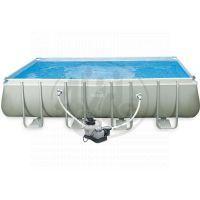 Intex 28352 Bazén obdélníkový s tvrzeným rámem 549 x 274 x 132 cm