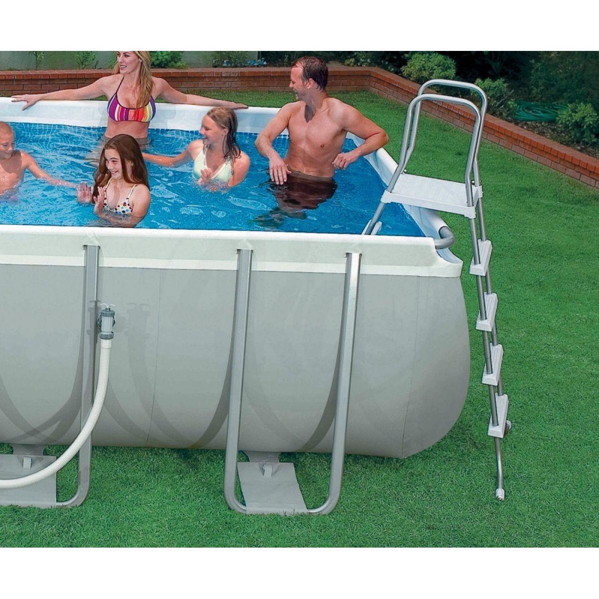 intex 28362 ultra frame pool 732 x 366 x 132 cm 4kids. Black Bedroom Furniture Sets. Home Design Ideas