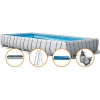 Intex 28372 Obdélníkový bazén s tvrzeným rámem  975x488x132 cm