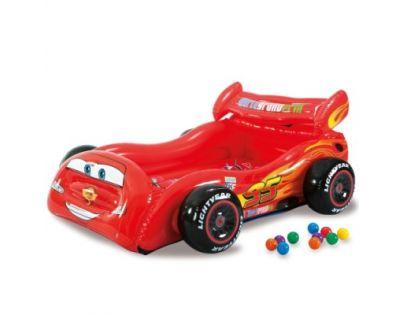 Intex 48667 Nafukovací postel Cars s míčky
