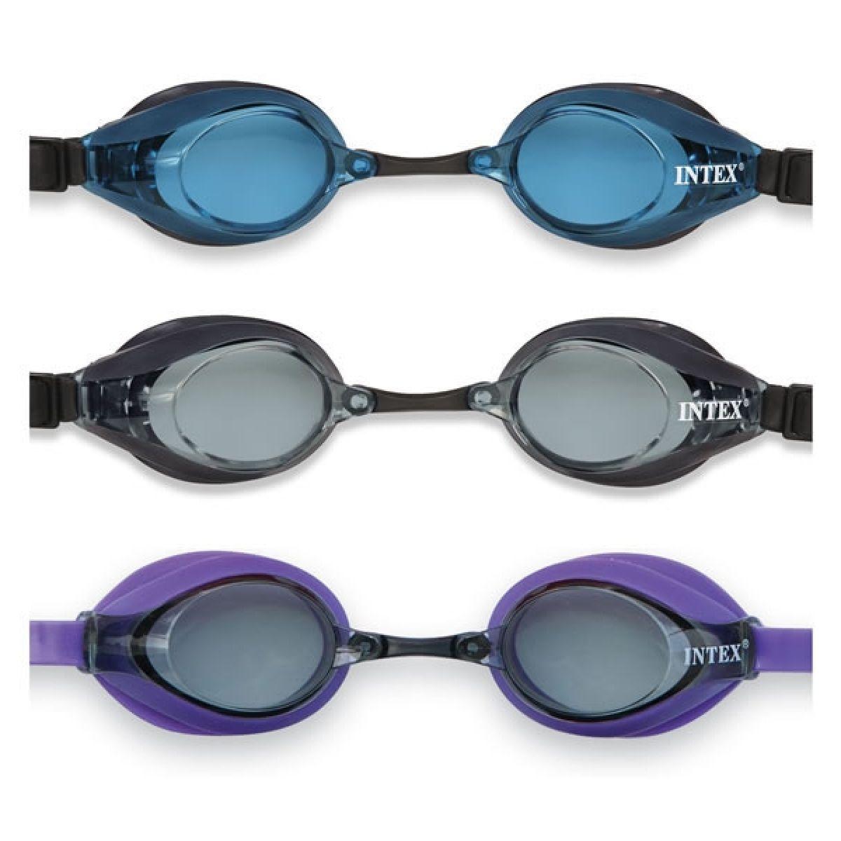 Intex 55691 Plavecké brýle Pro Racing - Modrá