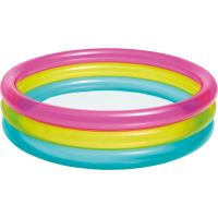 Intex 57104 Bazén kruhový průhledný 86 x 25 cm