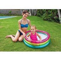 Intex 57104 Bazén kruhový průhledný 86 x 25 cm 2