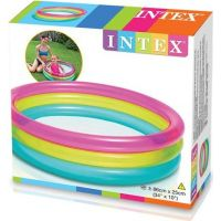 Intex 57104 Bazén kruhový průhledný 86 x 25 cm 3