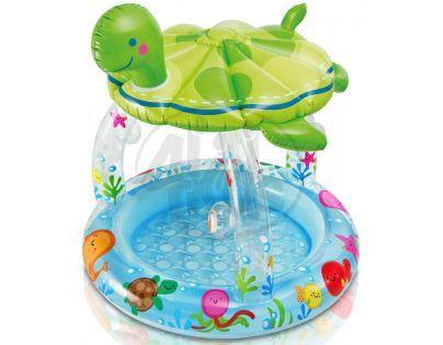 Intex 57119 Bazén dětský želva se stříškou