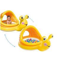 Intex 57124 Dětský bazének nafukovací šnek 3