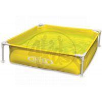 Intex 57172 Dětský bazén s rámem 122 x 122 x 30 cm