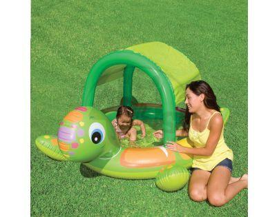 Intex 57410 Dětský bazének Želva se stříškou