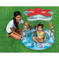 Intex 57428 Dětský bazén hvězdice se stříškou