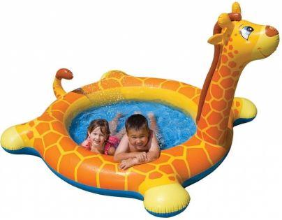Intex 57434 Nafukovací bazének žirafa