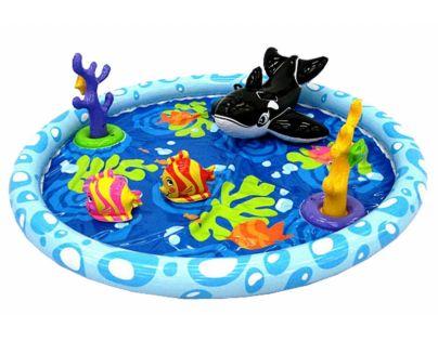 Intex 57448 Bazénové hrací centrum s velrybou