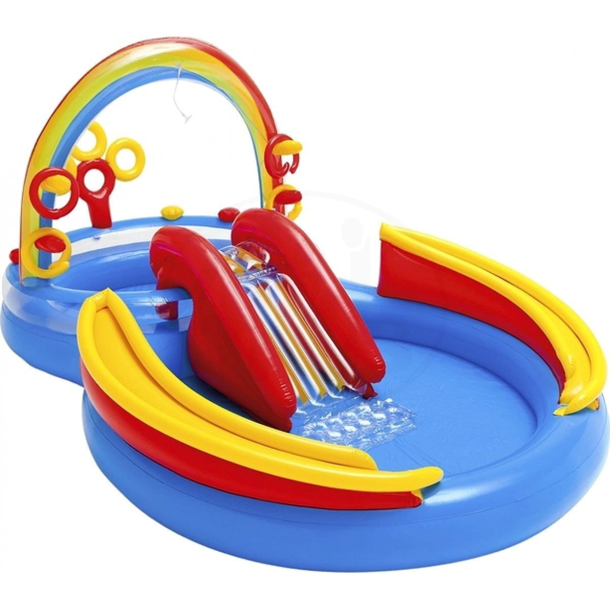 INTEX 57453 Rainbow Ring Play Center 297x193x135 cm