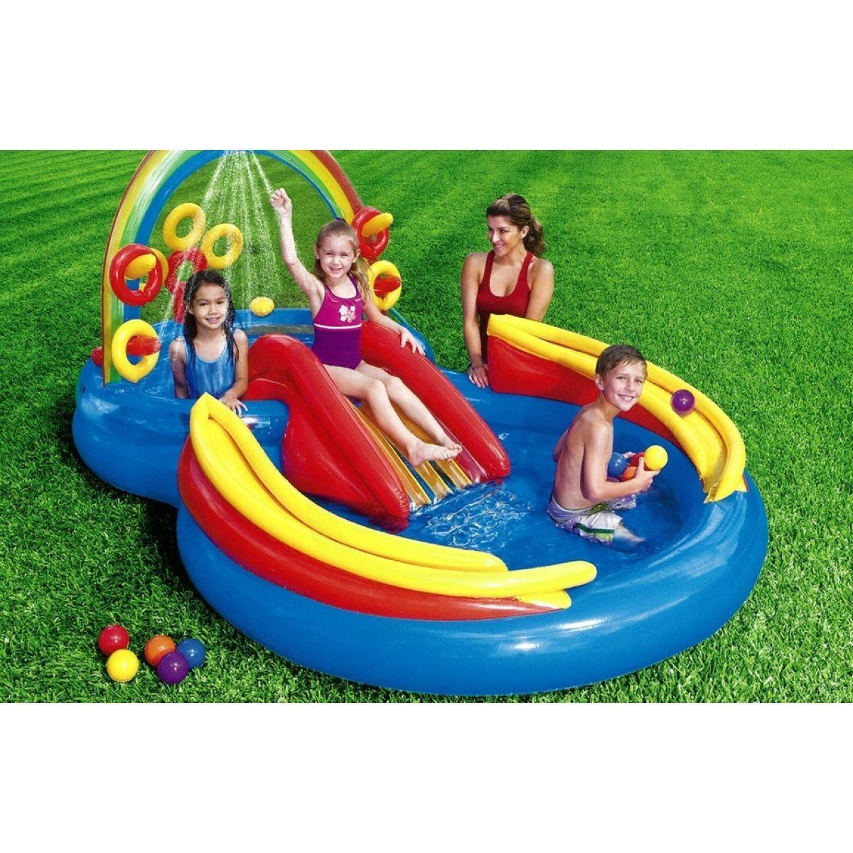 Intex 57453 nafukovac hrac centrum 297x193x135 cm 4kids - Piscine gonfiabili per bambini toys ...