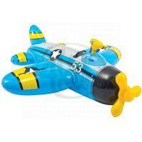 Intex 57537 Nafukovací letadlo 132x130cm - Modrá