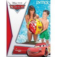 Intex 58053 Nafukovací míč Cars 61cm kostkovaný 3