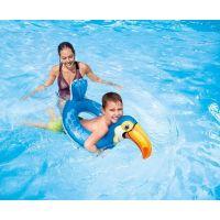 Intex 58221 Plavací kruh Zvířátka Tukan 2