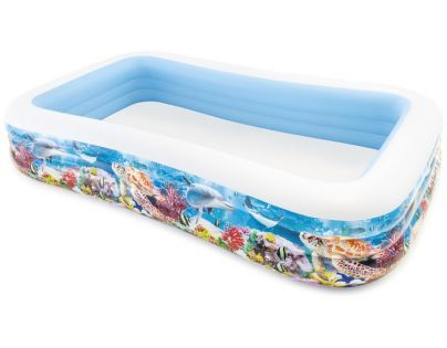 Intex 58485 Rodinný bazén s rybičkami 305x183cm
