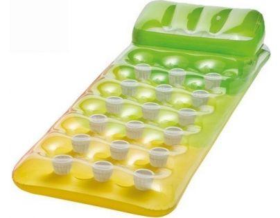 Intex 58890 Barevná nafukovací matrace - Zeleno-Žlutá