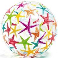 Intex 59040 Nafukovací barevný míč 51cm Hvězdice