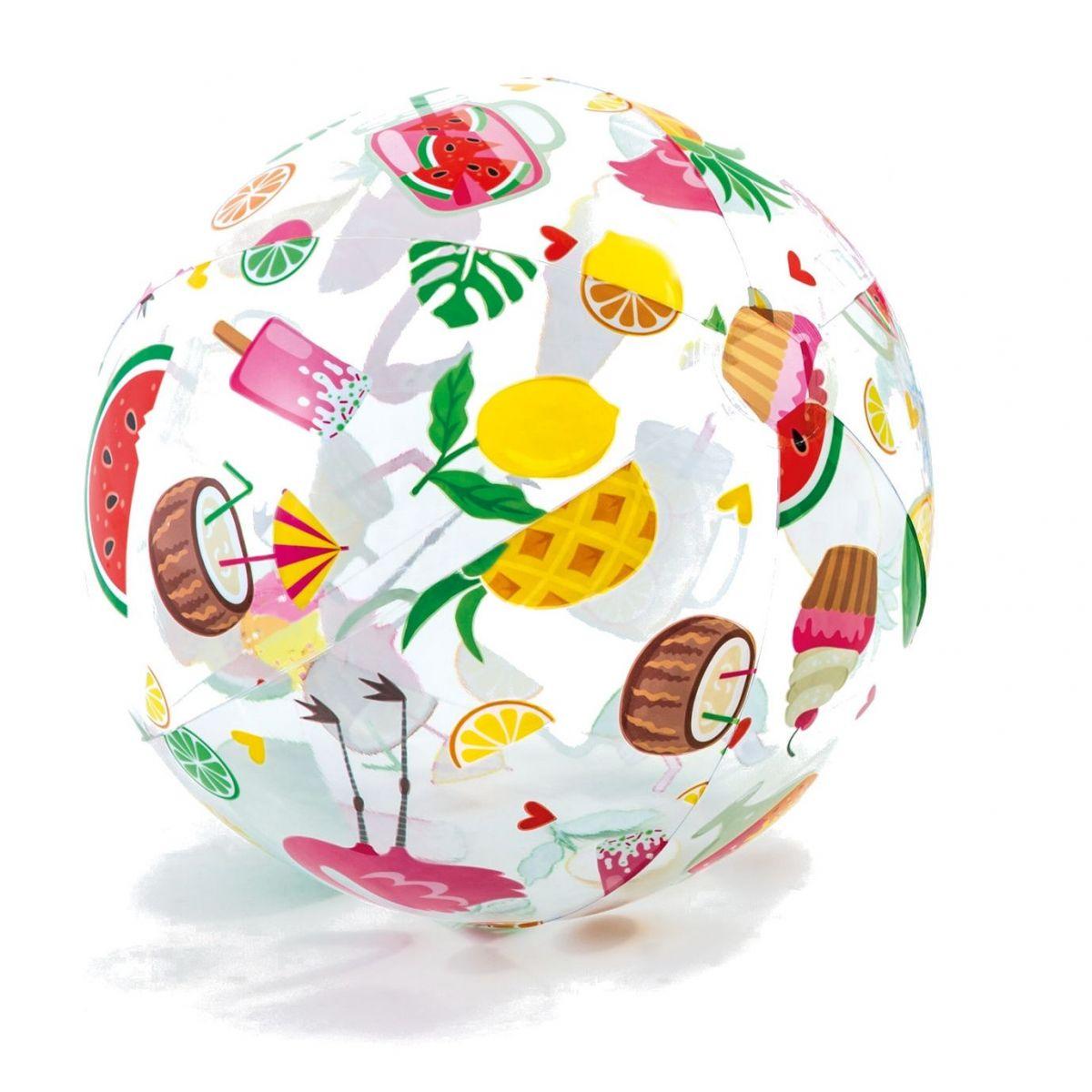 Intex 59040 Nafukovací barevný míč 51cm Ovoce