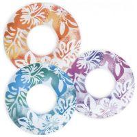 Intex Kruh průhledný s květinou