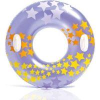 Intex 59256NP Kruh plovací Fialový