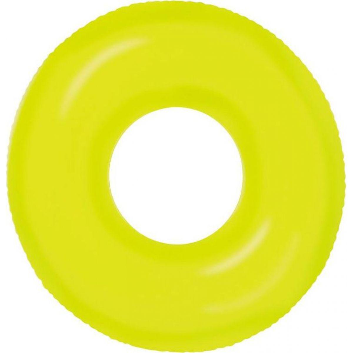 Levně Intex 59262 Plavací kruh 91cm Neon Frost Žlutá