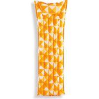 Intex 59712 Nafukovací matrace mozaika 183 x 69 cm oranžová
