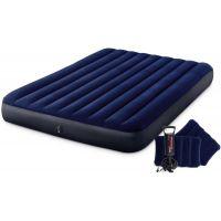Intex 64765 Nafukovací postel Standard Queen s ruční pumpou