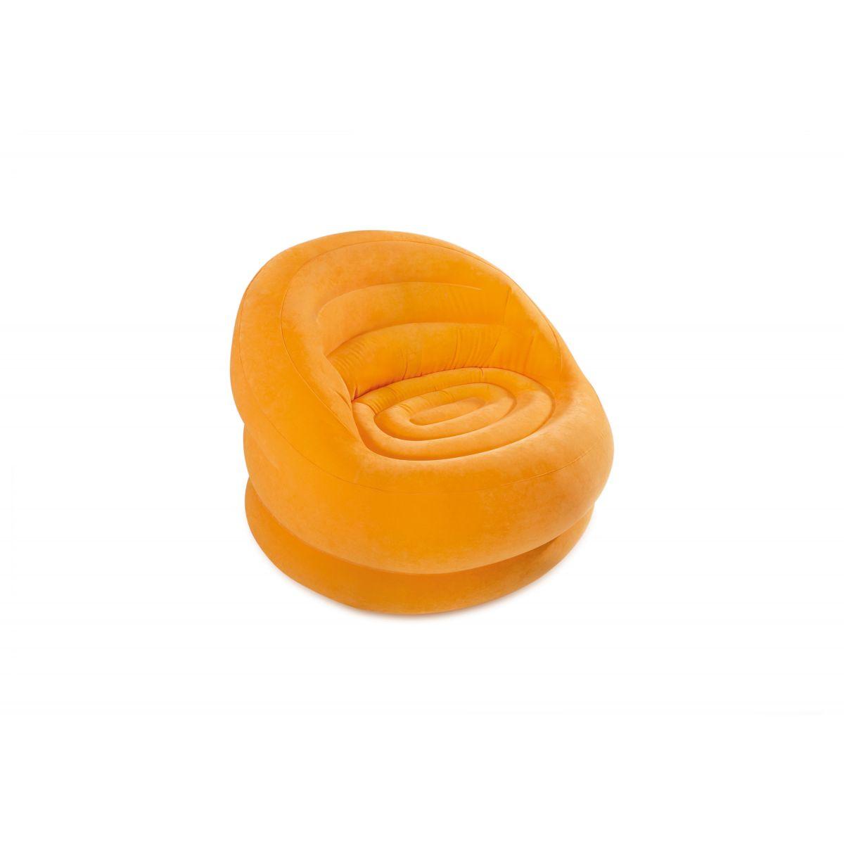 Intex 68577NP Nafukovací křeslo oranžové
