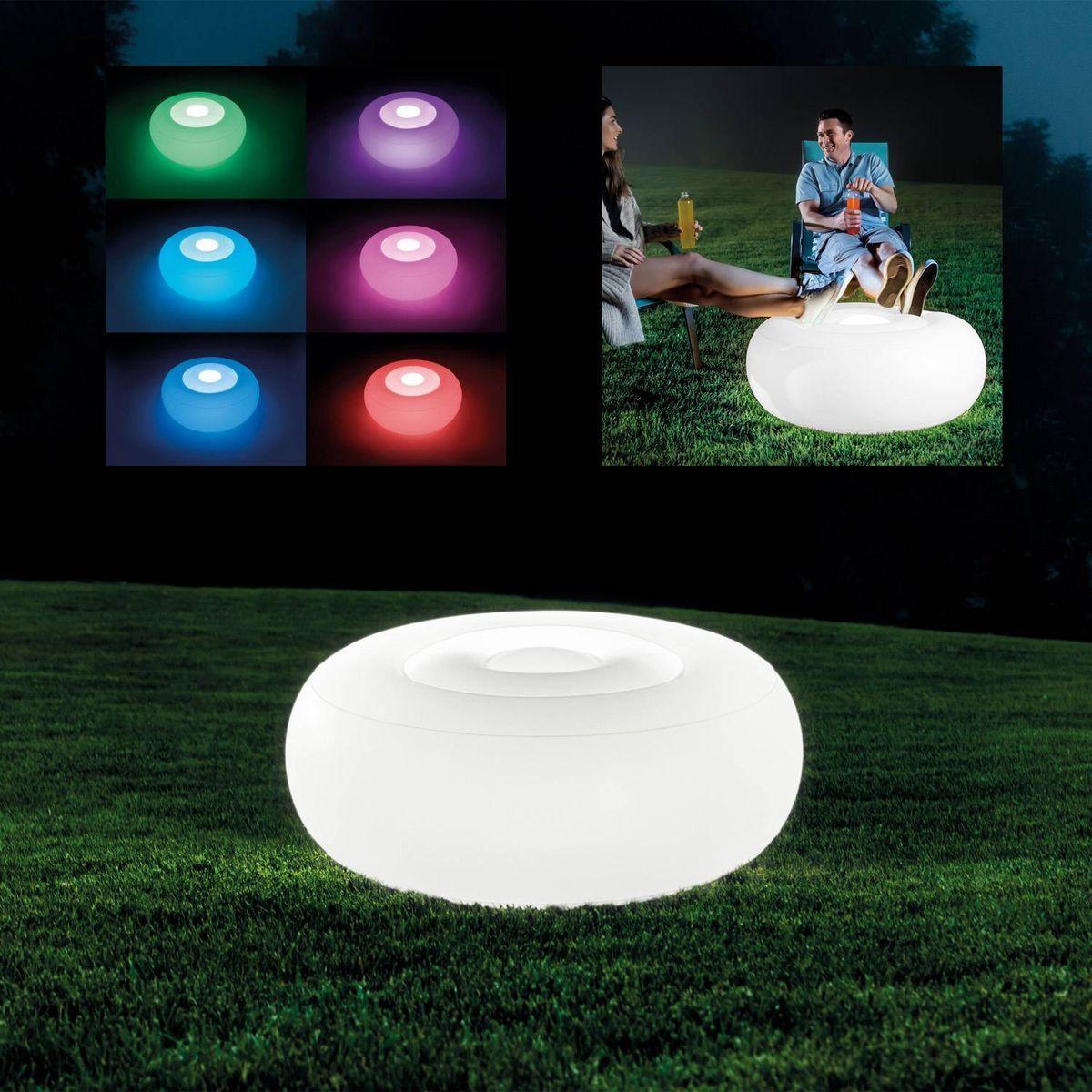 Intex Sedátko s LED svetlom Ottoman