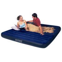 Intex 68755 Nafukovací postel King Classic Downy 203x183x22cm 2