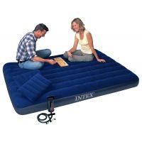Intex 68765 Nafukovací postel s pumpou Queen Downy Bed 2