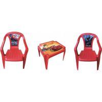 Ipae sada 2 židličky se stolečkem Disney Cars
