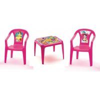 Ipae sada 2 židličky se stolečkem Disney Princess