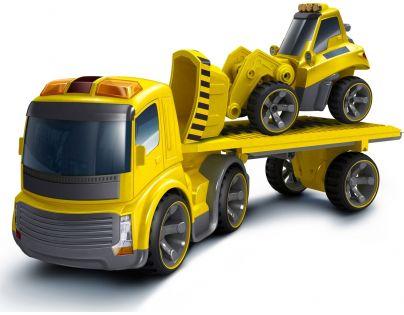 Silverlit GS7513_81118 - I/R Nákladní auto + buldozer