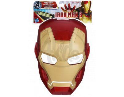 Iron Man maska svítící ve tmě Hasbro A1712