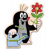 Bino Šití postavičky - Krtek a květina