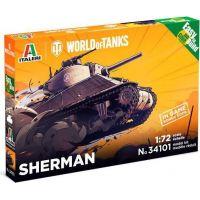 Italeri Easy to Build World of Tanks Sherman 1:72