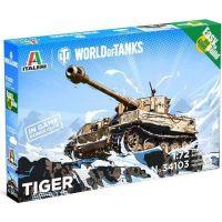Italeri Easy to Build World of Tanks Tiger 1:72