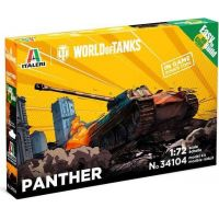 Italeri Easy to Build World of Tanks Panther 1:72