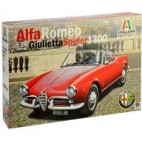 Italeri Model Kit auto Alfa Romeo Giulietta Spider 1300 1:24