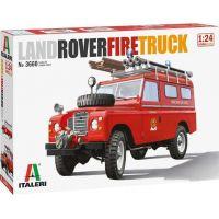 Italeri Model Kit auto Land Rover Fire Truck 1:24
