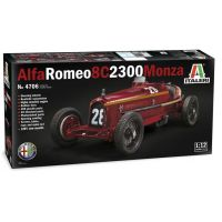 Italeri Model Kit auto Alfa Romeo 8C 2300 Monza 1:12