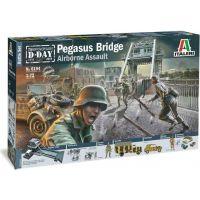 Italeri Model Kit diorama Pegasus Bridge Airborne Assault 1:72