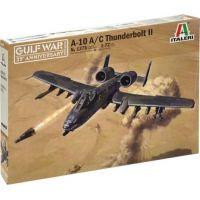 Italeri Model Kit letadlo A-10 A C Thunderbolt II Gulf War 1:72