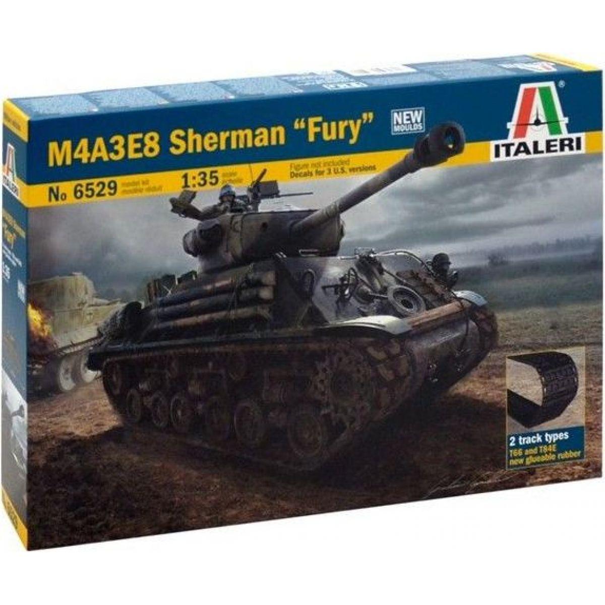 Italeri Model Kit tank M4A3E8 Sherman 1:35