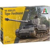 Italeri Model Kit tank VK 4501P Tiger Ferdinand 1:35