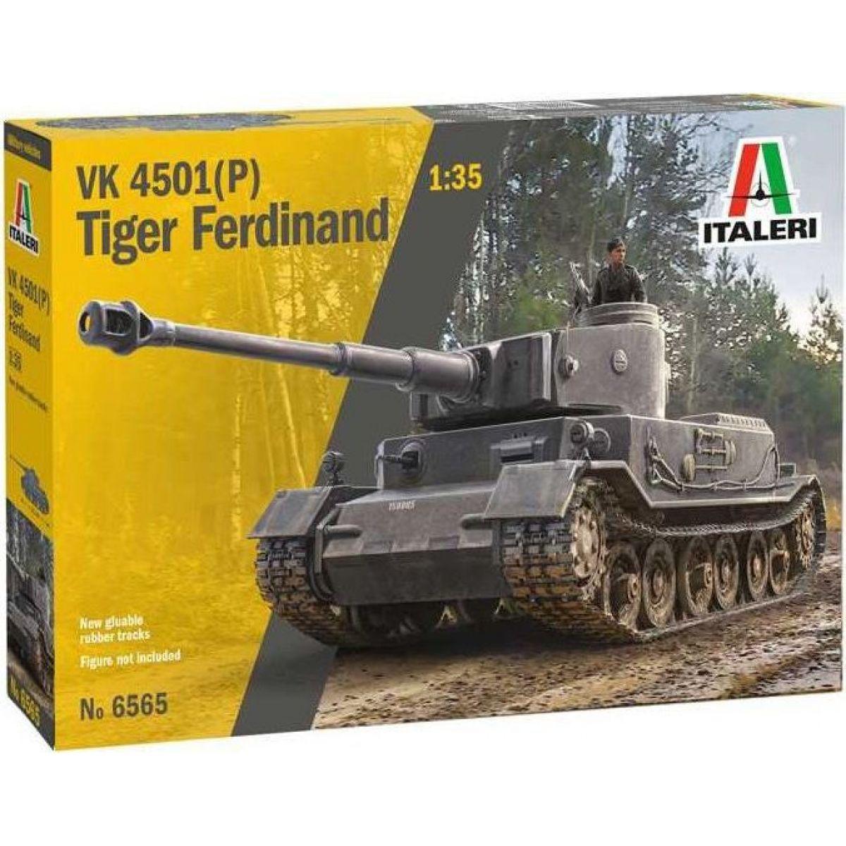 Italeri Model Kit tank VK 4501P Tiger Ferdinand 1:35