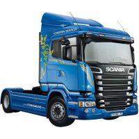 Italeri Model Kit truck Scania R400 Streamline Flat Roof 1:24